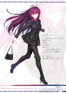 Rating: Safe Score: 30 Tags: fate/grand_order heels koyama_hirokazu pantyhose scathach_(fate/grand_order) screening User: Nepcoheart