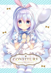 Rating: Questionable Score: 13 Tags: amedama_con animal_ears bunny_ears cleavage dress gochuumon_wa_usagi_desu_ka? kafuu_chino skirt_lift thighhighs User: kiyoe