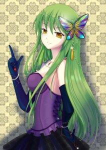 Rating: Safe Score: 63 Tags: c.c. clotho_(artist) code_geass dress User: animeprincess