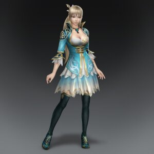 Rating: Safe Score: 17 Tags: cg cleavage dynasty_warriors dynasty_warriors_8 thighhighs wang_yuanji User: Radioactive