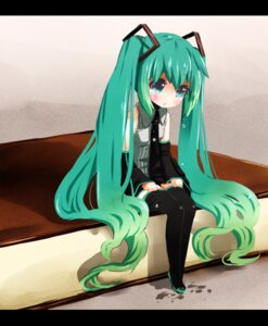 Rating: Safe Score: 24 Tags: chibi hatsune_miku thighhighs tickledpinky vocaloid User: Radioactive