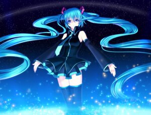 Rating: Safe Score: 52 Tags: hatsune_miku thighhighs vocaloid yuuki_kira User: maurospider