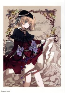 Rating: Safe Score: 23 Tags: alice_margatroid bloomers cierra_(artist) dress gothic_lolita lolita_fashion ringlet skirt_lift touhou User: fireattack