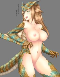 Rating: Explicit Score: 65 Tags: anthropomorphization censored monster_hunter naked nipples tail yui.h User: fairyren