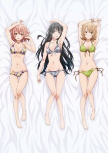 Rating: Safe Score: 143 Tags: bikini cleavage dakimakura isshiki_iroha swimsuits yahari_ore_no_seishun_lovecome_wa_machigatteiru. yuigahama_yui yukinoshita_yukino User: 001100220033