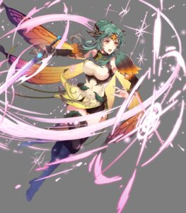 Rating: Questionable Score: 5 Tags: armor elincia_ridell_crimea fairy fire_emblem fire_emblem:_souen_no_kiseki fire_emblem_heroes heels niji_hayashi nintendo sword thighhighs wings User: fly24