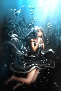 Rating: Safe Score: 62 Tags: catbell dress hatsune_miku vocaloid User: Mr_GT