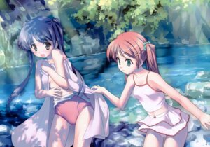 Rating: Questionable Score: 30 Tags: dress gap kogemashita school_swimsuit summer_dress swimsuits takoyaki undressing User: midzki