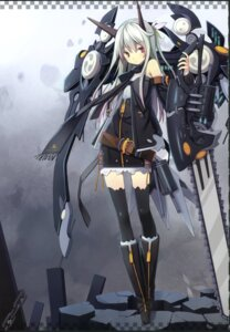 Rating: Safe Score: 43 Tags: asahiage chainsaw fixme mecha_musume poco thighhighs User: fireattack