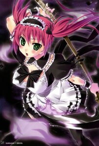 Rating: Questionable Score: 35 Tags: airi imu_sanjo maid queen's_blade User: YamatoBomber