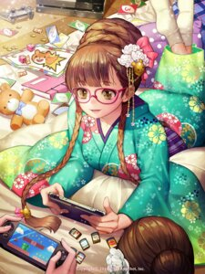 Rating: Safe Score: 38 Tags: gang_road_joker kimono megane soo_kyung_oh User: Mr_GT