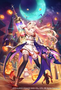 Rating: Safe Score: 15 Tags: cleavage halloween nemusuke nurse pointy_ears romancing_saga_re;universe stockings thighhighs User: Mr_GT