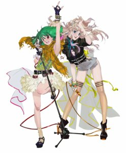 Rating: Safe Score: 22 Tags: cleavage heels macross macross_frontier no_bra ranka_lee sheryl_nome tagme thighhighs User: saemonnokami
