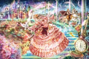 Rating: Safe Score: 28 Tags: cinderella cinderella_(character) dress heels landscape torinoakua User: charunetra