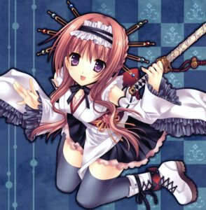 Rating: Safe Score: 35 Tags: lolita_fashion tatekawa_mako thighhighs wa_lolita wnb User: petopeto