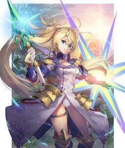 Rating: Safe Score: 14 Tags: armor bradamante_(fate/grand_order) cleavage fate/grand_order garter nakamura_eito pantsu uniform weapon User: Nepcoheart