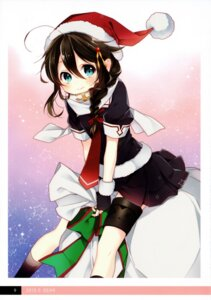 Rating: Safe Score: 14 Tags: christmas kantai_collection moni naoto seifuku shigure_(kancolle) User: kiyoe