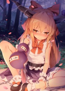 Rating: Safe Score: 83 Tags: chen_bin horns ibuki_suika touhou User: Randeel