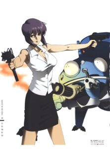 Rating: Safe Score: 12 Tags: cleavage ghost_in_the_shell gun mecha nishio_tetsuya User: Radioactive