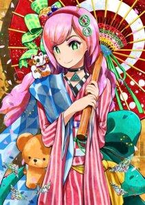Rating: Safe Score: 12 Tags: kimono tsurushima_tatsumi umbrella User: nphuongsun93