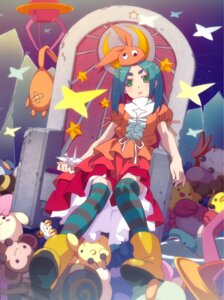 Rating: Safe Score: 47 Tags: dress monogatari_(series) ononoki_yotsugi thighhighs tsukimonogatari watanabe_akio User: tosaka