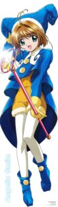 Rating: Safe Score: 9 Tags: card_captor_sakura fujita_mariko kinomoto_sakura pantyhose tagme weapon User: Omgix
