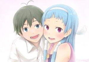 Rating: Safe Score: 7 Tags: kannagi_crazy_shrine_maidens mikuriya_jin nagi okamocheese User: yumichi-sama