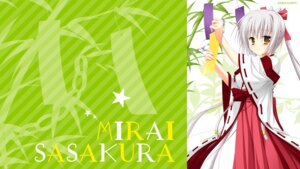 Rating: Safe Score: 33 Tags: arisue_tsukasa karumaruka_circle miko saga_planets sasakura_mirai wallpaper User: OnePaper