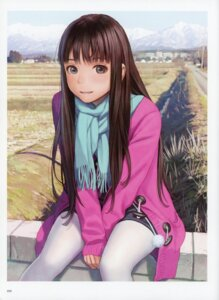 Rating: Safe Score: 38 Tags: pantyhose range_murata sweater User: Radioactive