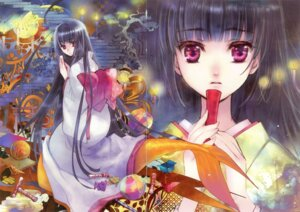 Rating: Safe Score: 13 Tags: bungaku_shoujo fixme gap kimono kuramoto_kaya User: petopeto