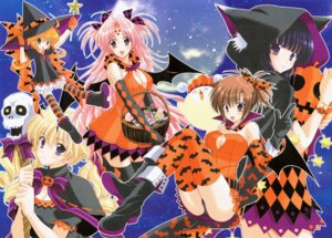 Rating: Questionable Score: 13 Tags: animal_ears bloomers cleavage devil dress ebi fukuyama_risa girls_bravo halloween hare_nanaka_koyomi kojima_kirie lana_jude_tomoka mario_kaneda miharu_sena_kanaka nekomimi pantsu thighhighs wings witch User: admin2