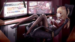 Rating: Safe Score: 35 Tags: anotoki_ashi heels pantyhose skirt_lift tagme wallpaper User: Dreista