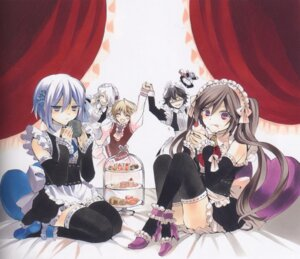 Rating: Safe Score: 18 Tags: alice_(pandora_hearts) dress echo gilbert_nightray heels maid mochizuki_jun oz_vessalius pandora_hearts screening thighhighs trap xerxes_break User: Riven