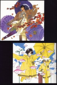 Rating: Safe Score: 1 Tags: arisugawa_sorata clamp kusanagi_shiyu kuzuki_kakyou nekoi_yuzuriha x User: hyde333
