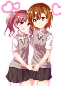 Rating: Safe Score: 4 Tags: dacchi misaka_mikoto seifuku to_aru_kagaku_no_railgun to_aru_majutsu_no_index User: Radioactive