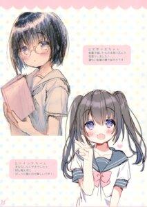 Rating: Safe Score: 8 Tags: megane seifuku sketch tagme usashiro_mani User: kiyoe