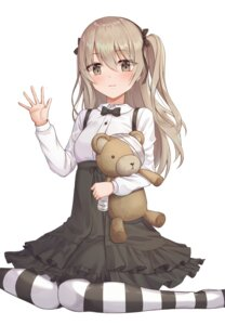 Rating: Safe Score: 16 Tags: bandages dress girls_und_panzer gothic_lolita lolita_fashion pantyhose shimada_arisu ssalgolae User: Dreista