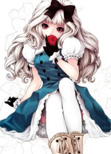 Rating: Safe Score: 75 Tags: bloomers dress kunishige_keiichi lolita_fashion thighhighs User: Radioactive