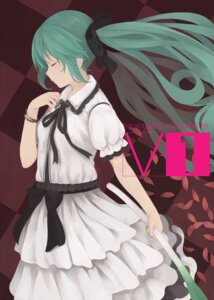 Rating: Safe Score: 19 Tags: dress hatsune_miku nnyu vocaloid User: fairyren
