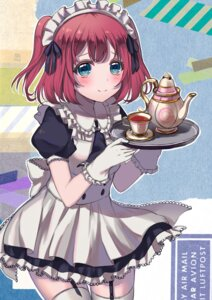 Rating: Safe Score: 41 Tags: fuyuzima kurosawa_ruby love_live!_sunshine!! maid stockings thighhighs waitress User: Mr_GT