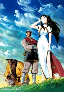 Rating: Safe Score: 6 Tags: chinadress giant_robo ginrei kubooka_toshiyuki User: charunetra