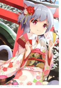 Rating: Safe Score: 22 Tags: animal_ears kimono nekomimi tagme tail User: kiyoe