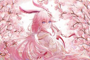 Rating: Safe Score: 28 Tags: animal_ears benghuai_xueyuan bunny_ears honkai_impact japanese_clothes makix yae_sakura_(benghuai_xueyuan) User: whitespace1