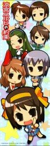 Rating: Safe Score: 7 Tags: animal_ears asahina_mikuru bunny_ears bunny_girl chibi koizumi_itsuki kyon kyon's_sister nagato_yuki seifuku suzumiya_haruhi suzumiya_haruhi_no_yuuutsu tsuruya waitress User: 样样精通