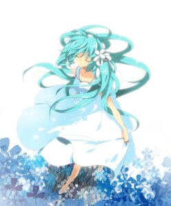 Rating: Safe Score: 36 Tags: dress hatsune_miku marirero_a vocaloid User: Nekotsúh