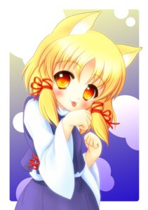 Rating: Safe Score: 7 Tags: animal_ears john_inu moriya_suwako nekomimi touhou User: Radioactive