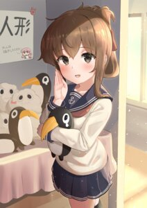 Rating: Safe Score: 11 Tags: inazuma_(kancolle) kantai_collection penguin seifuku soushou_nin User: BattlequeenYume