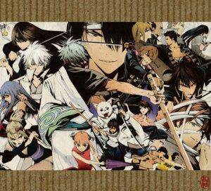 Rating: Safe Score: 14 Tags: elizabeth_(gintama) gintama hasegawa_taizou hijikata_toushirou imai_nobume kagura kamui katsura_kotarou kondou_isao okita_sougo sadaharu sagatsune sakata_gintoki sasaki_isaburo shimura_shinpachi shimura_tae sword takasugi_shinsuke takechi_henpeita yagyuu_kyuubei User: missblack