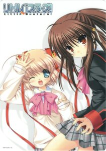 Rating: Safe Score: 6 Tags: card hinoue_itaru kamikita_komari key little_busters! na-ga natsume_rin seifuku User: admin2