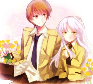 Rating: Safe Score: 4 Tags: angel_beats! machimori otonashi seifuku tenshi User: Radioactive